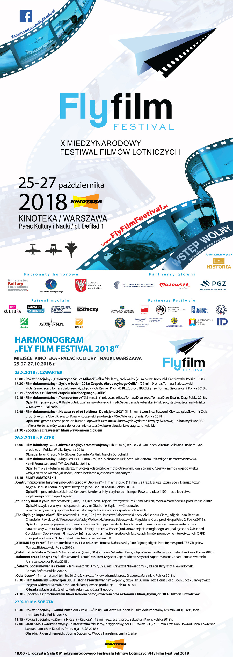 harmonogram fly film festiwal
